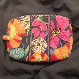 Vera Bradley Medium Cosmetic Bag in Jazzy Blooms